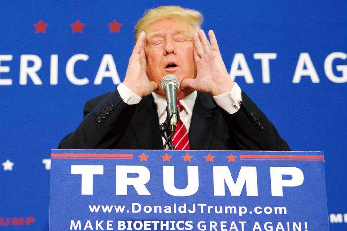 Trump, ¿va a hacer una Bioética genial?