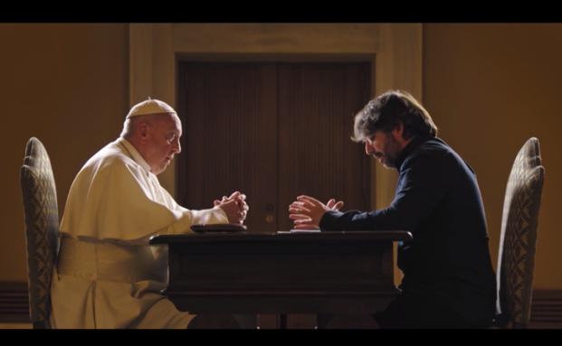 Francisco entrevista a Évole